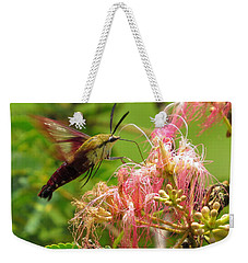Hummingbird Moth Weekender Tote Bag by Phyllis Beiser