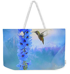 Hummingbird Mountains Weekender Tote Bag