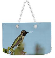 Hummingbird On Watch Weekender Tote Bag