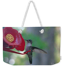 Hummingbird  Weekender Tote Bag by Rand Herron