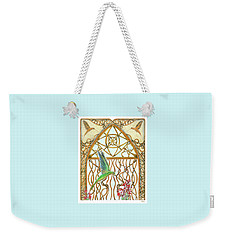 Hummingbird Sanctuary Weekender Tote Bag