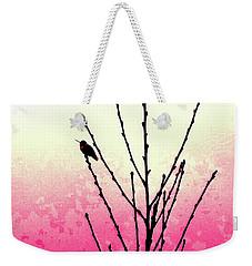 Hummingbird Valentine Weekender Tote Bag