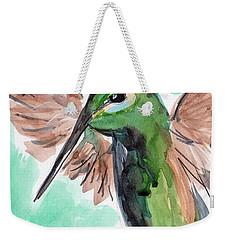 Hummingbird4 Weekender Tote Bag