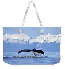 Weekender Tote Bag featuring the photograph Humpback Whale Megaptera Novaeangliae by Konrad Wothe