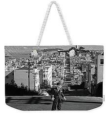 Humphrey Bogart Film Noir Dark Passage Telegraph Hill And Coit Tower San Francisco 1947 Weekender Tote Bag