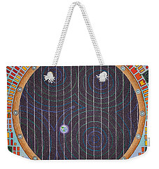 Hundertwasser Shuttle Window Weekender Tote Bag
