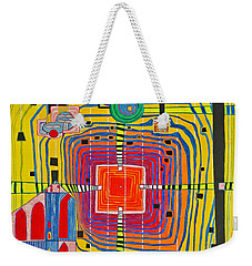 Hundertwassers Close Up Of Infinity Tagores Sun Weekender Tote Bag