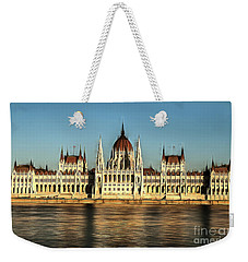 Hungarian National Parliament Weekender Tote Bag