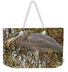 Hungry Heron Weekender Tote Bag