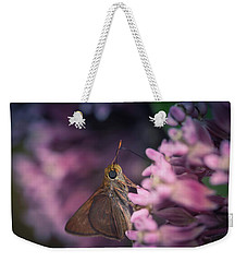 Hungry Moth Weekender Tote Bag