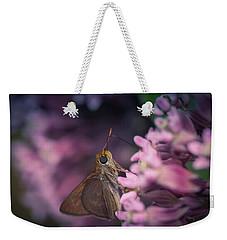 Hungry Moth Weekender Tote Bag