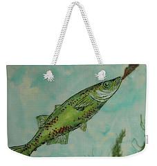 Hungry Weekender Tote Bag