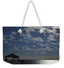 Weekender Tote Bag featuring the photograph Hunter's Moon by Laura Fasulo