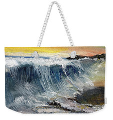 Hunter's Moon Weekender Tote Bag by Randy Sprout