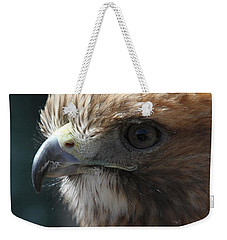 Weekender Tote Bag featuring the photograph Hunter's Spirit by Laddie Halupa