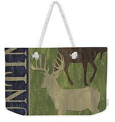 Hunting Weekender Tote Bag by Debbie DeWitt