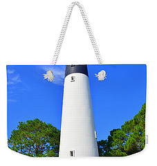 Hunting Island Lighthouse Beaufort Sc Weekender Tote Bag