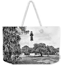 Hunting Island Lighthouse Weekender Tote Bag