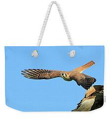 Hunting Kestrel Weekender Tote Bag