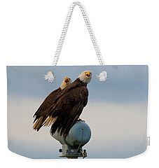Hunting Pair Weekender Tote Bag