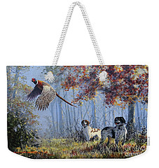 Hunting Stories Weekender Tote Bag