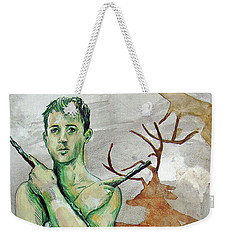 Youth Hunting Turtles Weekender Tote Bag