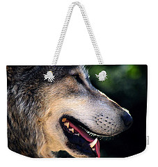 Hunting Wolf Weekender Tote Bag by Martin Newman