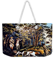 Hunting: Woodcock, 1852 Weekender Tote Bag