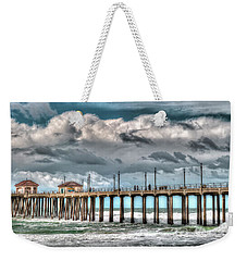 Huntington Beach Winter 2017 Weekender Tote Bag