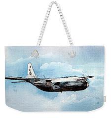Hurricane Hunter Weekender Tote Bag