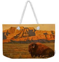 Hurry Sunup Weekender Tote Bag