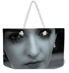 Weekender Tote Bag featuring the photograph Hurt by Ian Thompson
