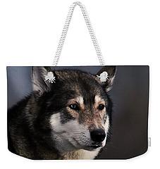 Husky Weekender Tote Bag by  Newwwman