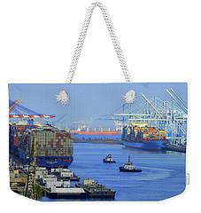 Hustle - Bustle Weekender Tote Bag