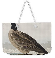 Hutchins's Barnacle Goose Weekender Tote Bag by John James Audubon