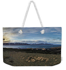 Hvalfjorour Panorama Weekender Tote Bag