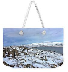 Hvalfjoerdurs Wintersun Weekender Tote Bag