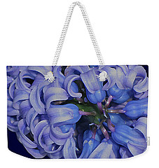 Hyacinth Curls Weekender Tote Bag