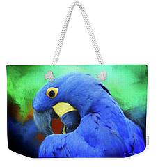 Hyacinth Mcaw Weekender Tote Bag