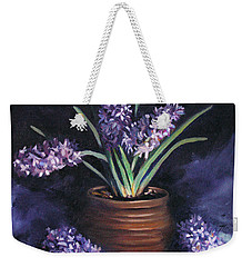 Hyacinths In A Pot Weekender Tote Bag