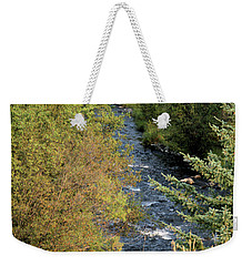 Hyalite Creek Overlook Weekender Tote Bag