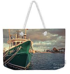 Hyannis Harbor Cape Cod Massachusetts Weekender Tote Bag