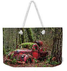 Hybrid Fire Truck Weekender Tote Bag