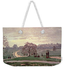 Hyde Park Weekender Tote Bag by Claude Monet