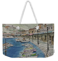 Hydra Clock Tower Weekender Tote Bag