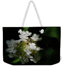 Weekender Tote Bag featuring the photograph Hydrangea by Chrystal Mimbs