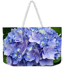 Weekender Tote Bag featuring the photograph Hydrangea Heaven by Beth Saffer
