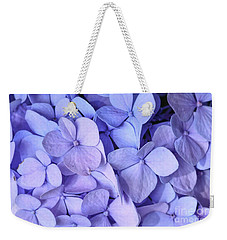 Weekender Tote Bag featuring the photograph Hydrangea by Kerri Farley