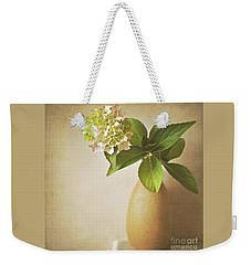 Hydrangea With Leaves Weekender Tote Bag