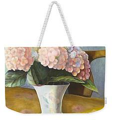 Hydrangeas Weekender Tote Bag